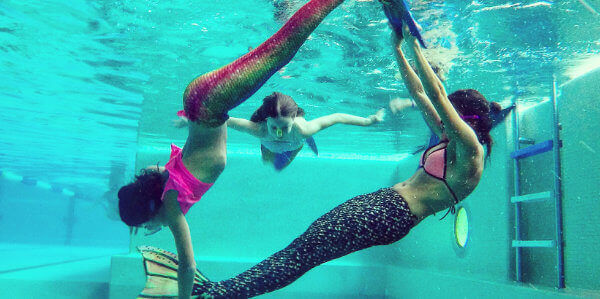 Meerjungfrauen Ausbildung Swimsports